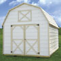 RTO Metal Lofted Barn