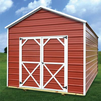 RTO Metal Utility Shed