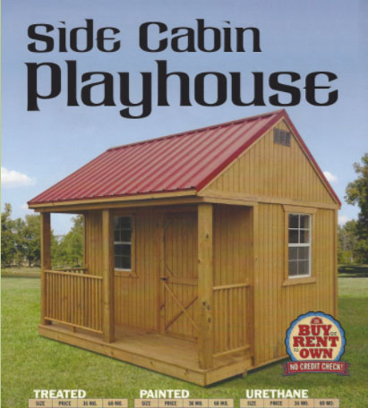 Side Cabin Playhouse