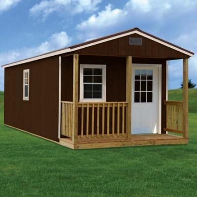 RTO Painted Wood Cabin