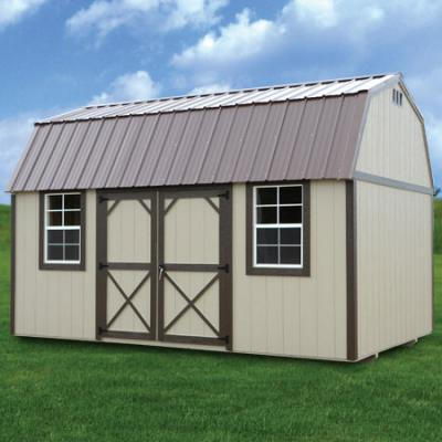 RTO Painted Side Lofted Barn