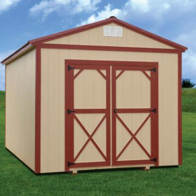 RTO Painted Utility Shed