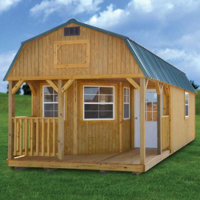 Treated Deluxe Lofted Barn Cabin