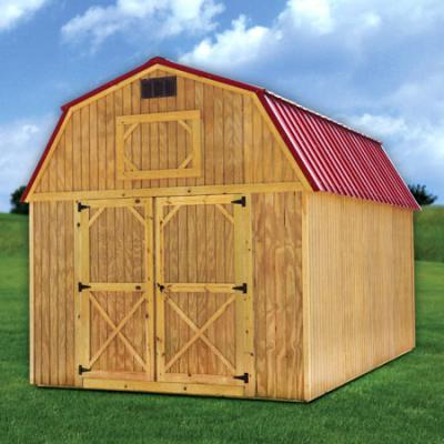 RTO Treated Lofted Barn